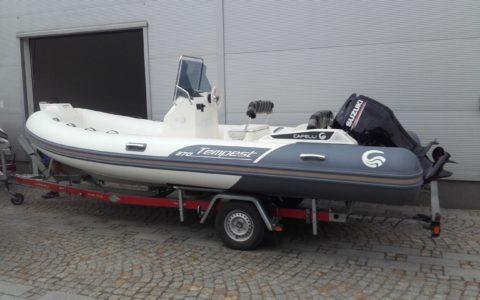 RIB Capelli Tempest 570 + Suzuki DF100 135000,00 pln