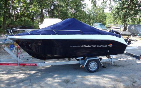 Atlantic Marine 530 + Suzuki DF 100 APL 105000,00 pln Warszawa - Zegrze - Marina Diana
