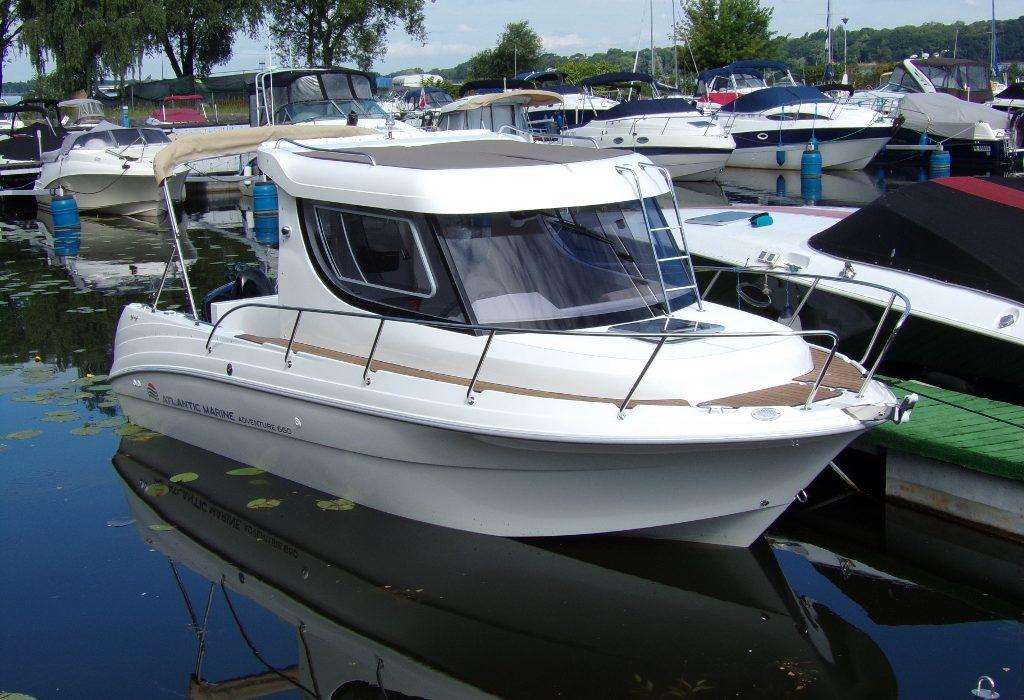 Atlantic Marine 660 + Suzuki DF 140 ATL 169900,00 pln Warszawa -Zegrze - Marina Diana 1