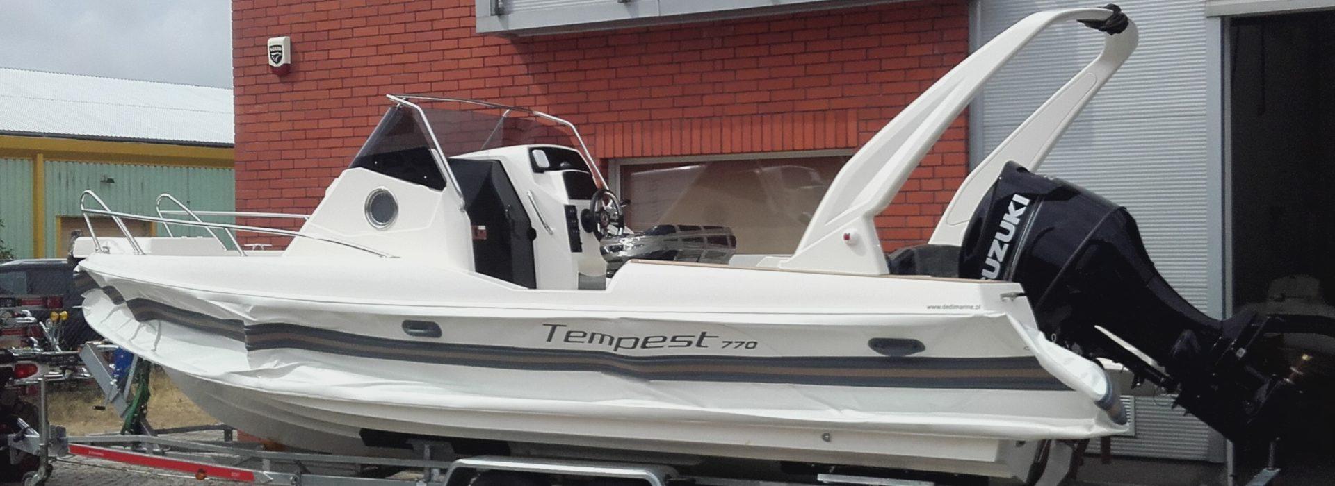 RIB Capelli Tempest TOP 770WA Kabin + Suzuki DF 200 APX 320000,00 pln