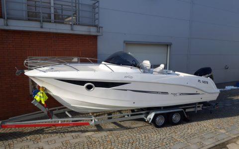 GALIA 700 sundeck + Suzuki DF 300 APX 280000,00 pln Salon Wysogotowo 5